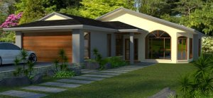 narrow block homes-4 bed home design