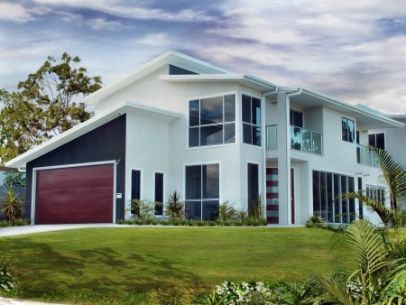 Australian 4 Bed 3 Bath Office Family Home Display