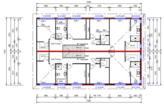 Australian house floor plans 8 bedroom 6 bath room 2 for Free australian house designs and floor plans
