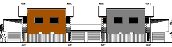 Australian 4 unit townhouse plans townhouse plans for 4 unit townhouse plans